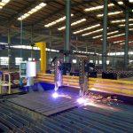 गॅन्ट्री सीएनसी प्लाझ्मा कटिंग मशीन फ्लेम कटिंग मशीन स्टील प्लेट