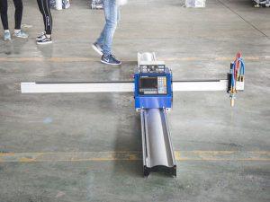नवीन तंत्रज्ञान मायक्रो स्टार्ट सीएनसी मेटल कटर / पोर्टेबल सीएनसी प्लाझ्मा कटिंग मशीन