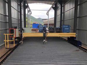सर्व्हो मोटरसह प्रेसिजन सीएनसी प्लाझ्मा कटिंग मशीन अचूक 13000 मिमी