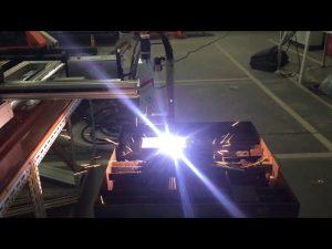 कमी किंमतीची पोर्टेबल सीएनसी गॅस प्लाझ्मा कटिंग मशीन