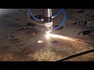 स्टेनलेस स्टील मेटल लोहासाठी चीन व्यापार आश्वासन स्वस्त किंमती पोर्टेबल कटर सीएनसी प्लाझ्मा कटिंग मशीन बनवलेले